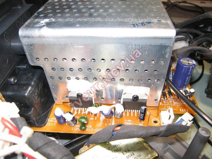 ремонт акустической системы TDK XA-60 W