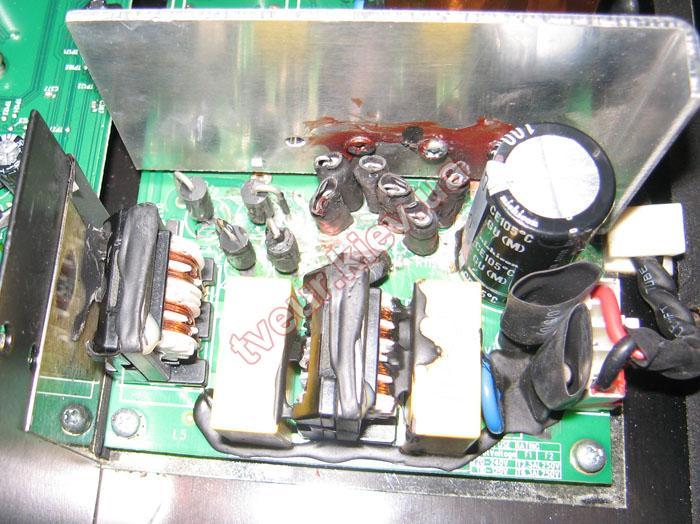 ремонт акустики Logitech Z906 5.1