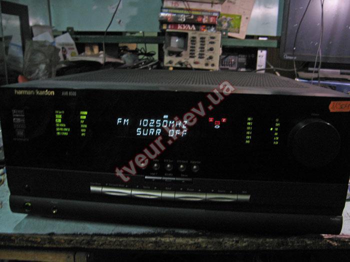 ремонт ресивера Harman Kardon AVR 8500