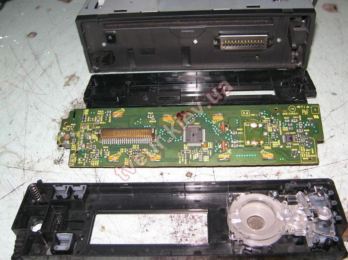 ремонт JVC KD-R701