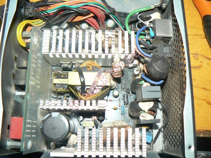 ремонт блока питания Chieftec A-80 CTG-750C