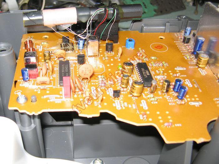 ремонт музыкального центра Panasonic RX-ES29 EE-S