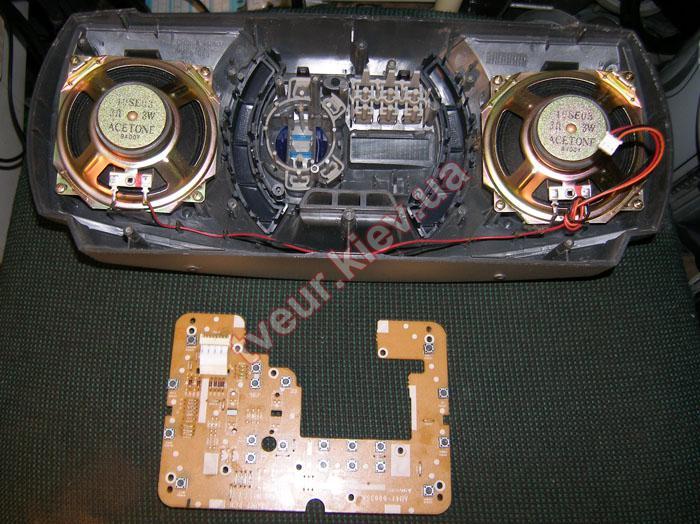ремонт музыкального центра Samsung RCD-590