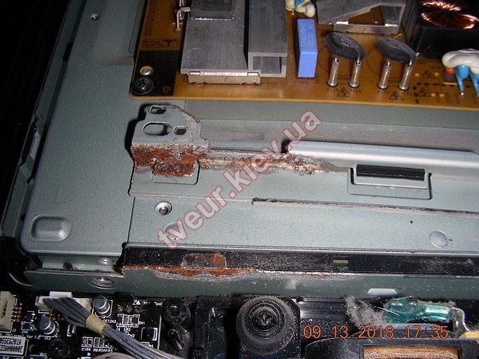 ремонт матрицы после воды