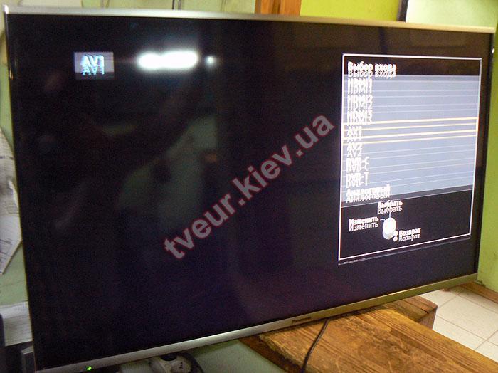 ремонт матрицы телевизора Panasonic
