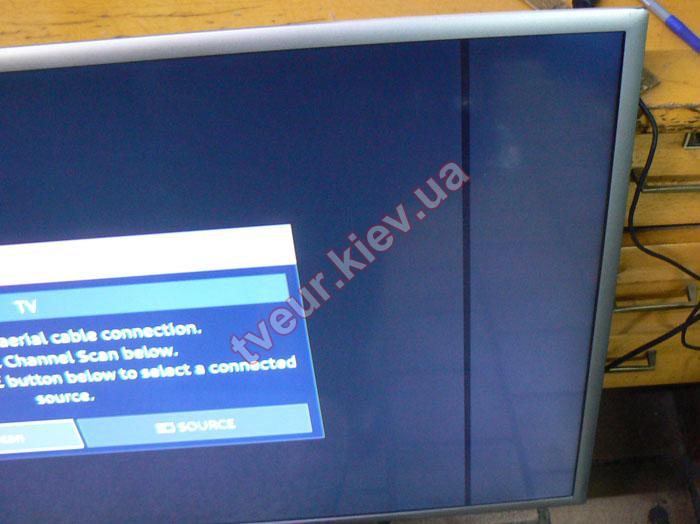 ремонт матрицы телевизора Samsung UE40K5500