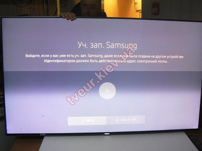 ремонт матрицы телевизора Samsung UE55KS8000