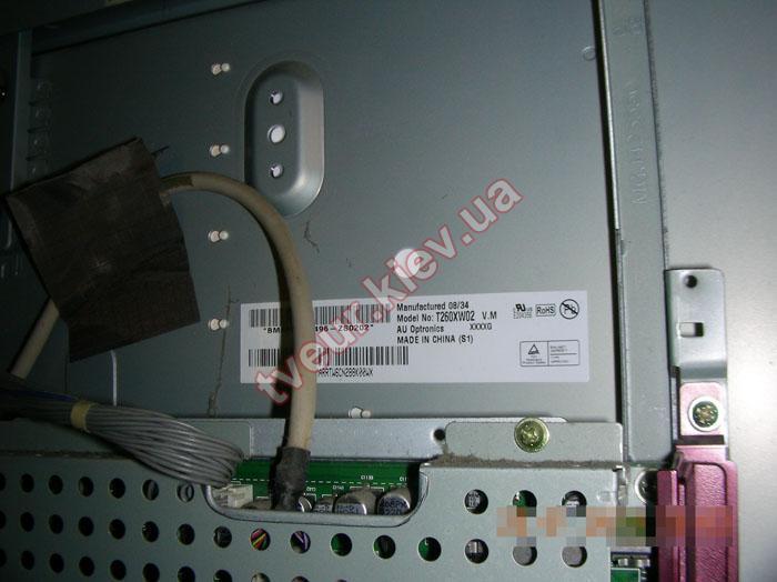 ремонт матрицы телевизора LG 26LG4000