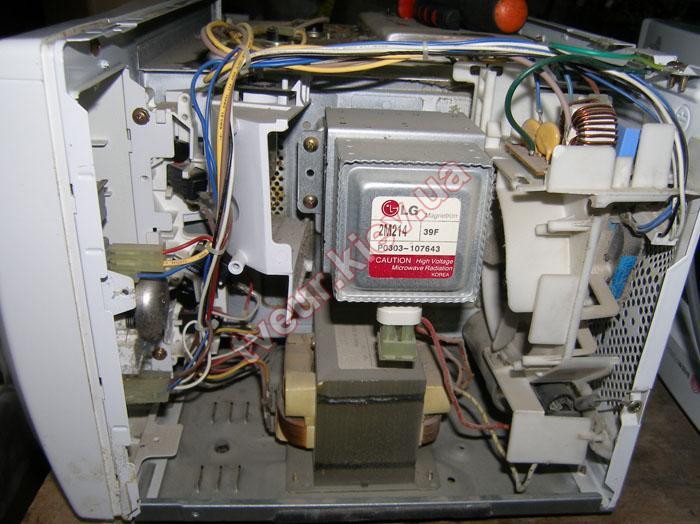 ремонт микроволновки LG MB-4322AH