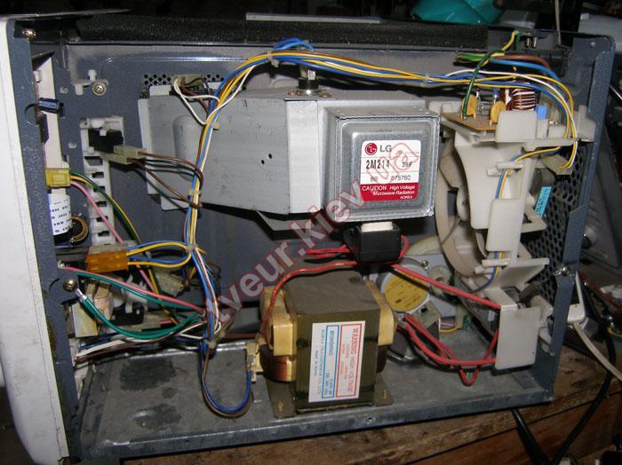 ремонт микроволновки LG MH-745HD