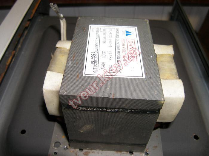 ремонт микроволновой печи LG MS-1929G
