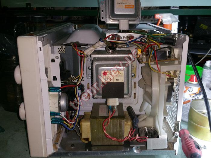 ремонт микроволновки Moulinex MW02-B
