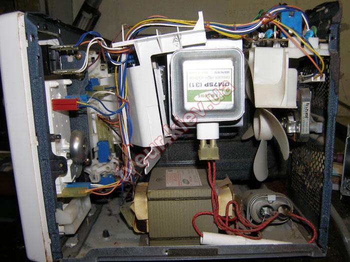 ремонт микроволновки Samsung CE 2718NR