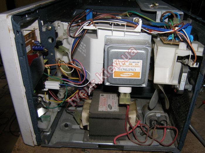 ремонт микроволновки после скачка напряжения