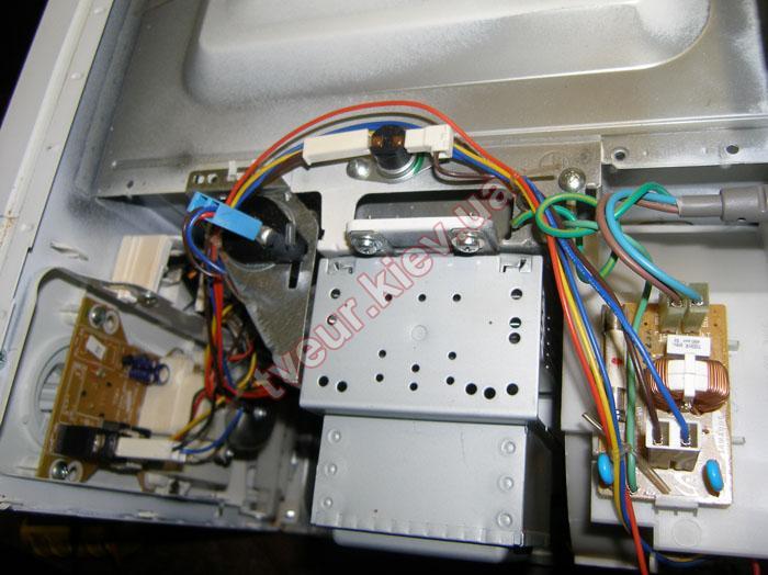 ремонт микроволновки Samsung MW712BR