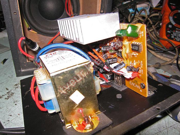 ремонт акустической системы 4U
