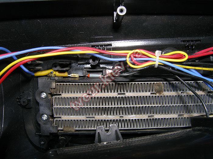 ремонт тепловентилятора Calore FHC-2RS