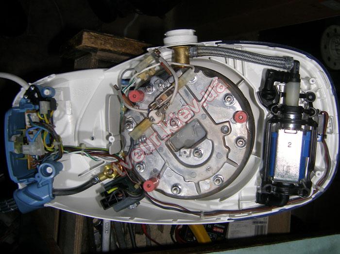 ремонт утюга (парогенератора) Tefal GV 7325 EO