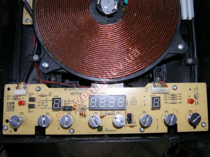 ремонт индукционной печи Steba