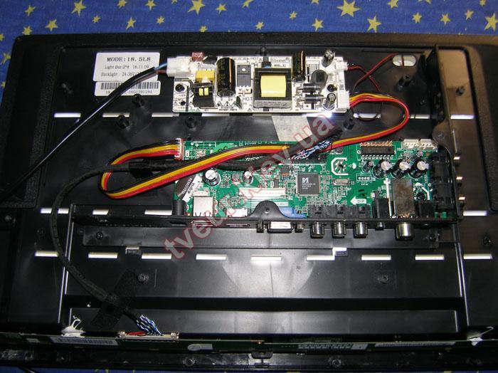 как починить подсветку на телевизоре