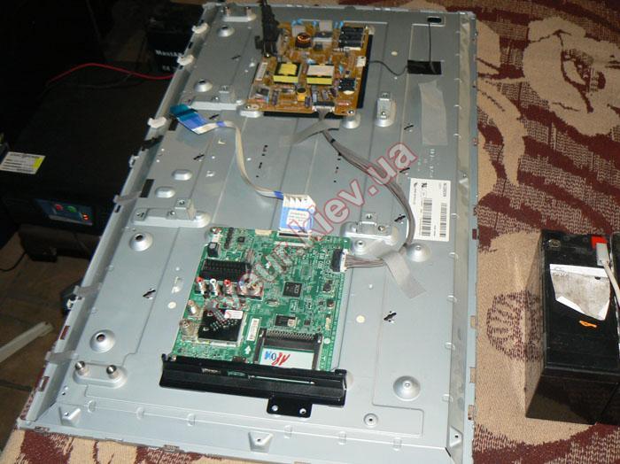 ремонт подсветки телевизора LG 32LB550B