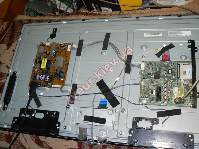 ремонт подсветки телевизора LG 39LN540V