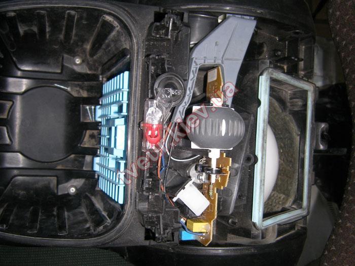 замена мотора пылесоса