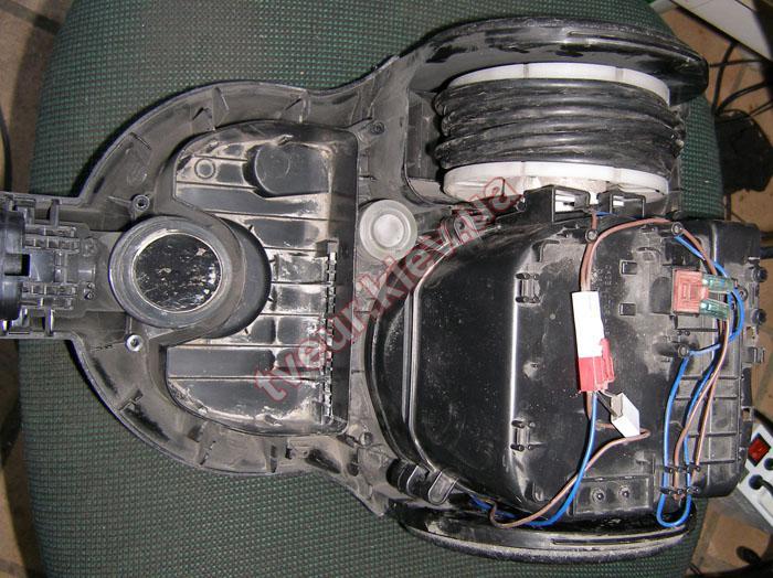 замена мотора пылесоса Самсунг