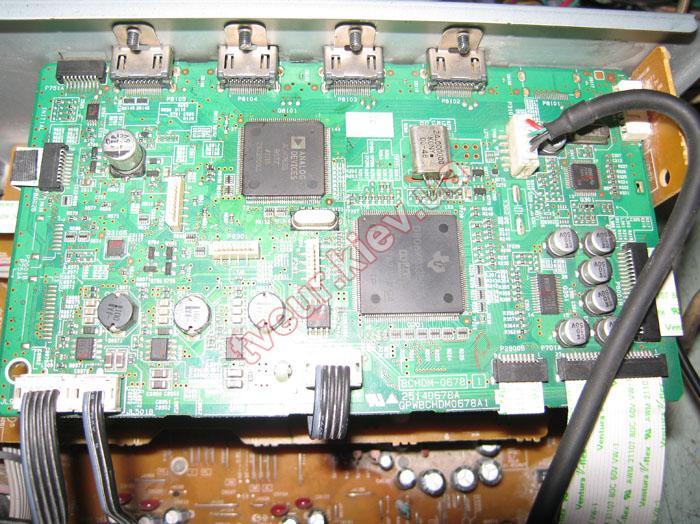 ремонт AV-ресивера Onkyo TX-SR309