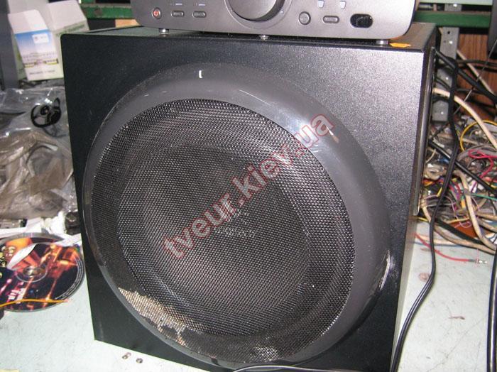 ремонт АС Logitech Z-906