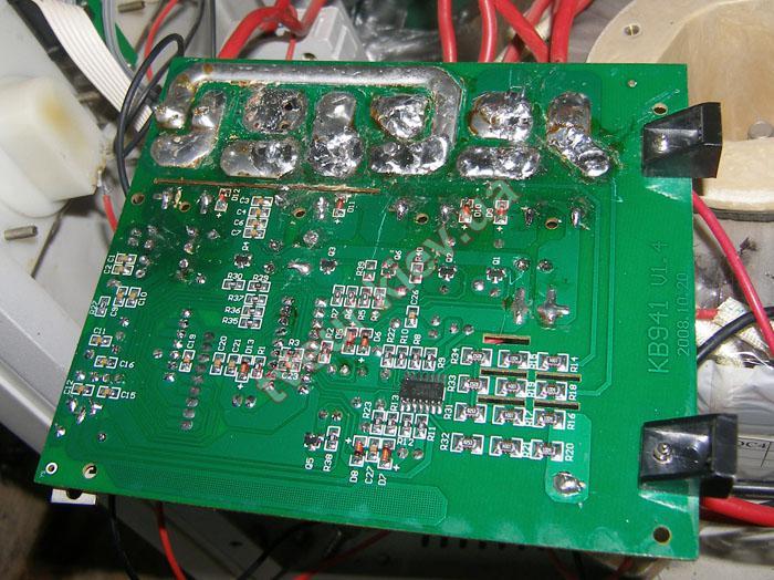 ремонт стабилизатора напряжения Forte