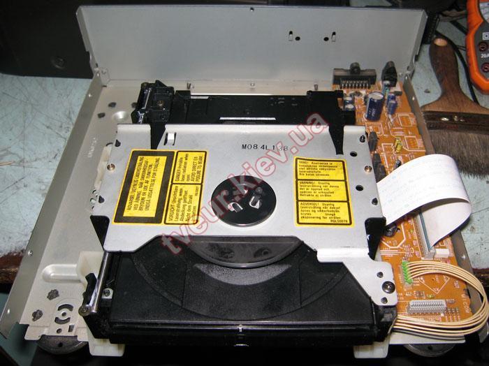 ремонт музыкального центра Technics SL-SA1060