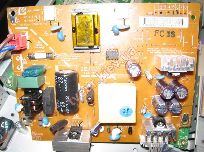 ремонт монитора LG M197WD