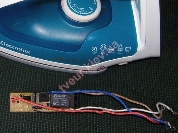 ремонт утюга ElectroLux EC-1660-DW