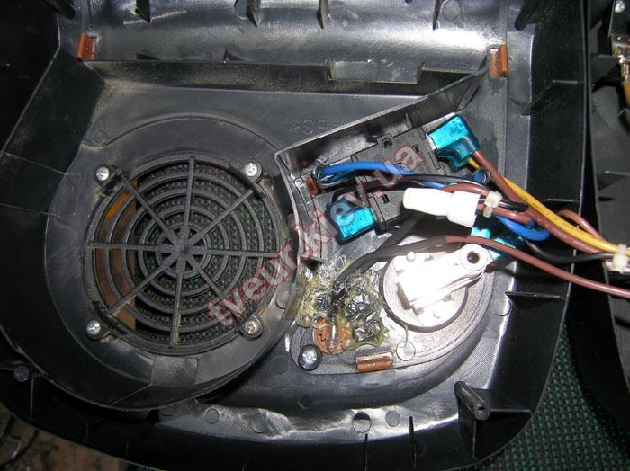 ремонт тепловентилятора Vitek VT-1734 GY