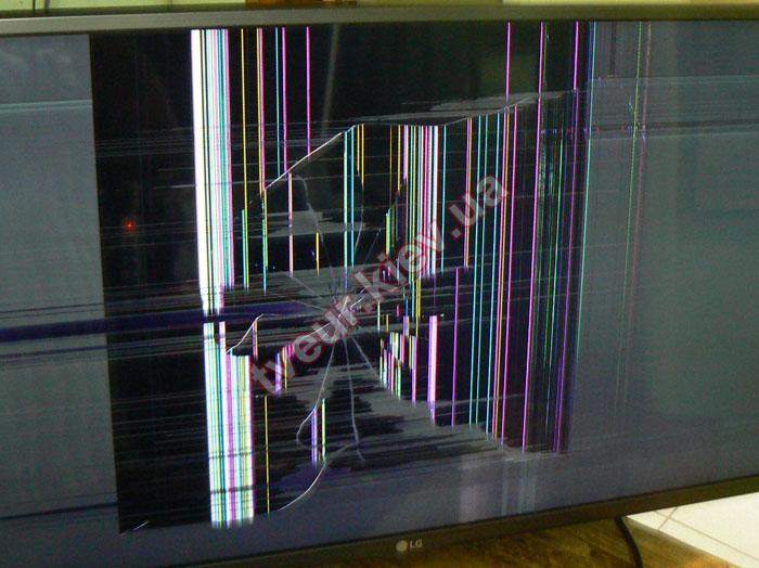 замена матрицы в телевизоре LG