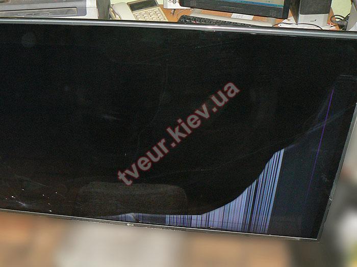 замена матрицы ТВ LG