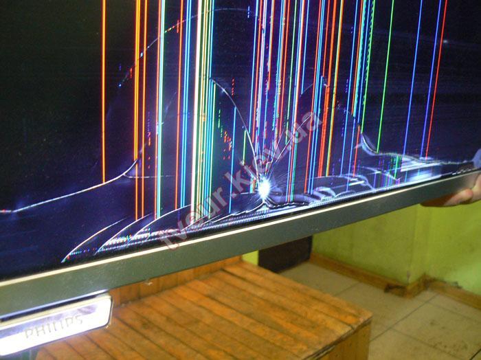 замена матрицы на телевизоре Филипс