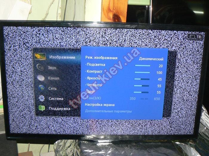 замена матрицы Samsung UE32ES5537K