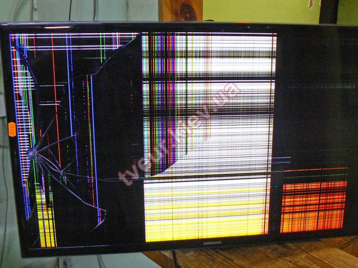 замена матрицы телевизора Samsung UE32F4000AW