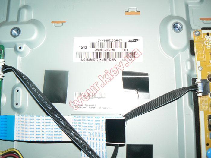 замена матрицы телевизора Samsung UE32J5550AU
