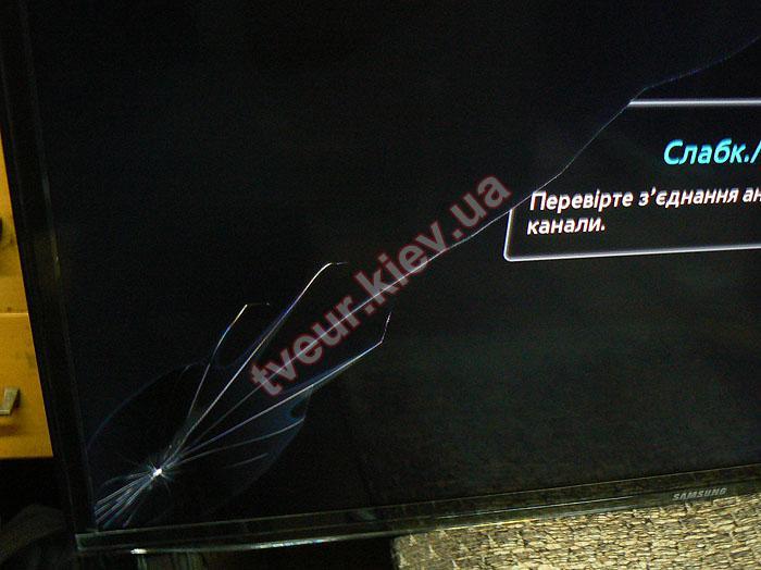 замена экрана ЖК телевизора Самсунг