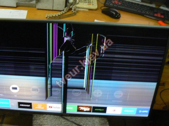 замена матрицы телевизора Samsung UE40K5550BUXUA
