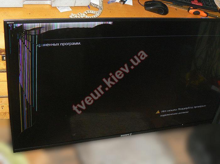 замена матрицы телевизора Sony