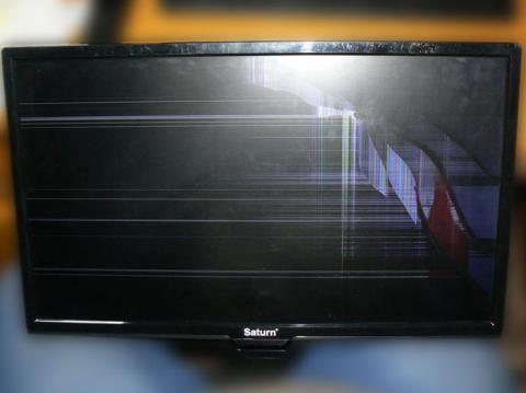 диагностика телевизора Saturn TV LED22K New