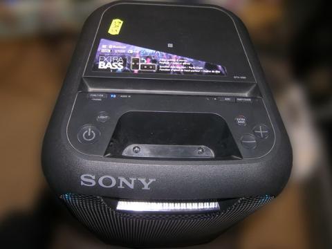 ремонт блютуз колонки Sony GTK-XB5