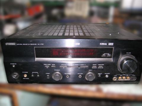 ремонт AV-ресивера Yamaha RX-V757
