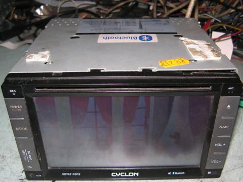 ремонт автомагнитолы Cyclon SDV 6511 GPS
