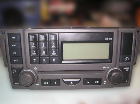 ремонт магнитолы Land Rover VUX500500