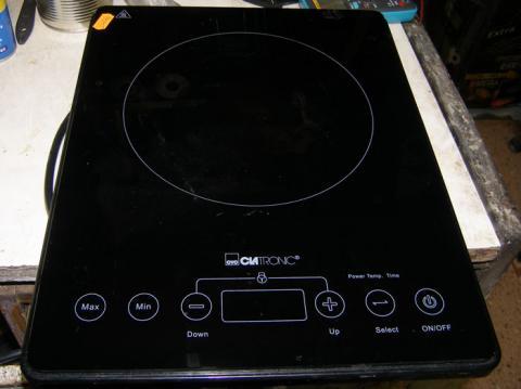 ремонт настольной электроплиты Clatronic EKI 3569